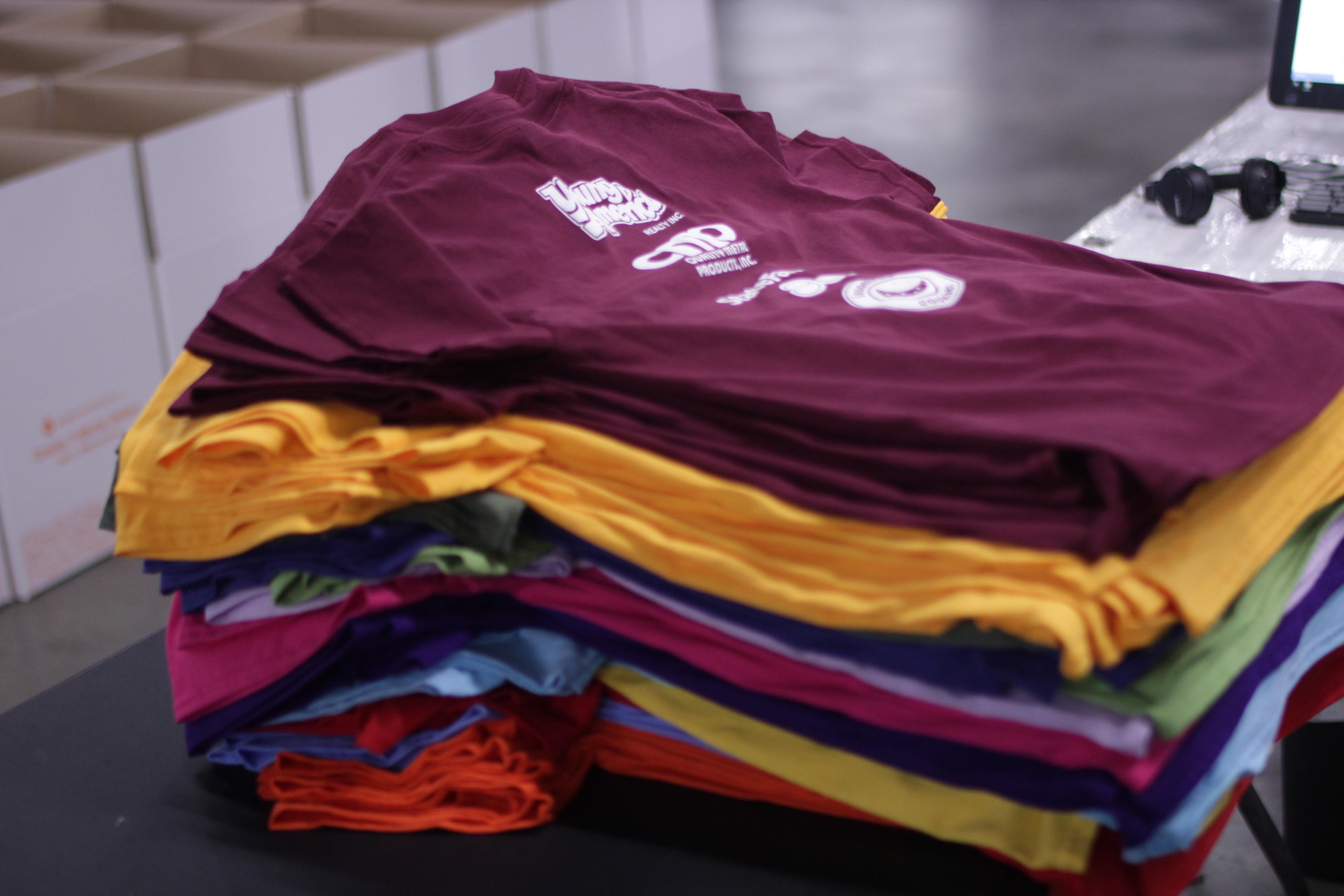 Promocja i produkcja koszulek